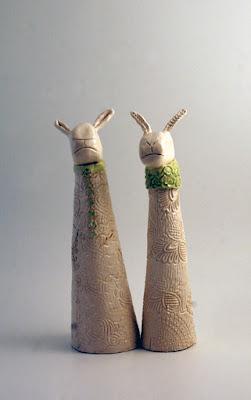 Anne & Dave – Ceramic Sheep
