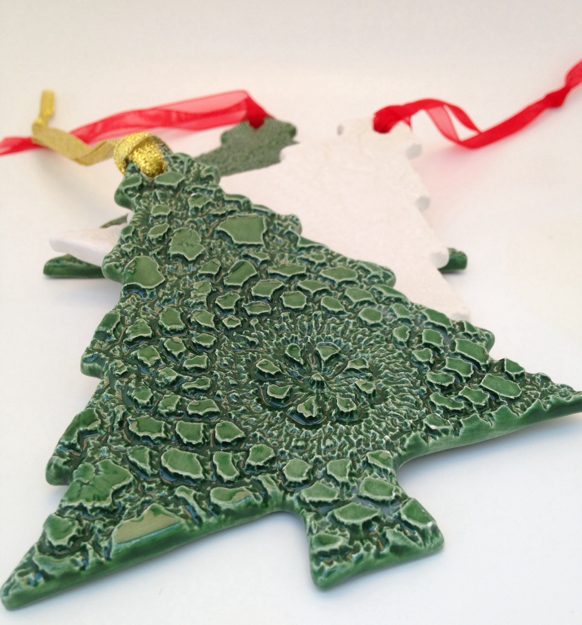 Image result for christmas decorations ceramic workshops